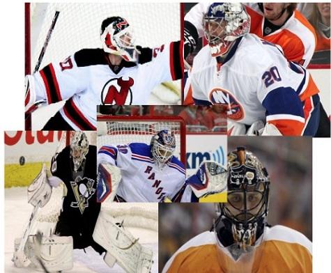 Atlantic Division - Top 5 Goaltenders